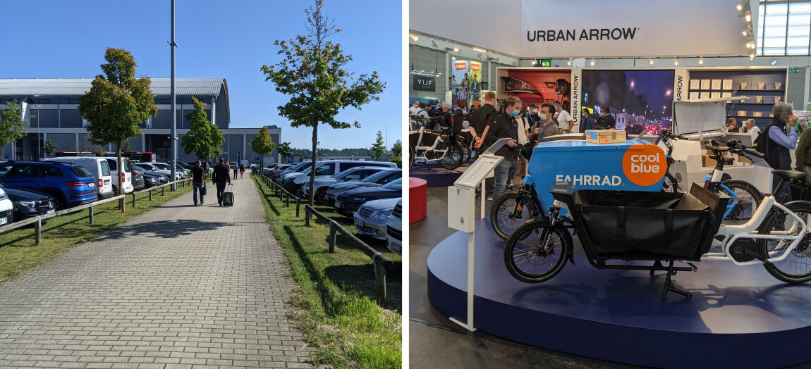 But made it to Eurobike eventually