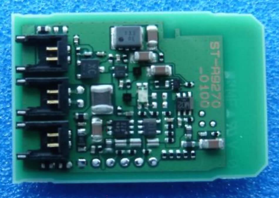ST-R9270 inside PCB