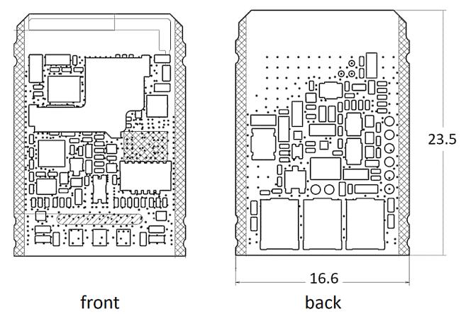 ST-R9270 PCB drawing