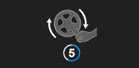 Image for Index Rear Derailleurs and set Front Derailleur limits using E-Tube Project