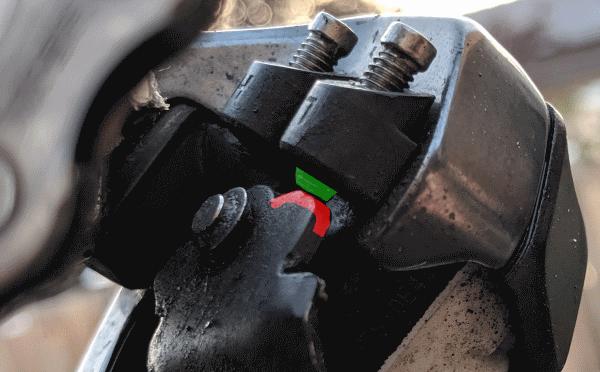 RD low limit stopper bolt