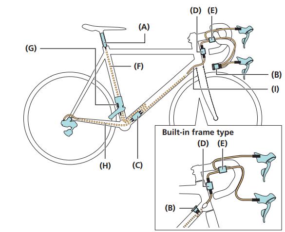 Building a Di2 bike - wiring diagram