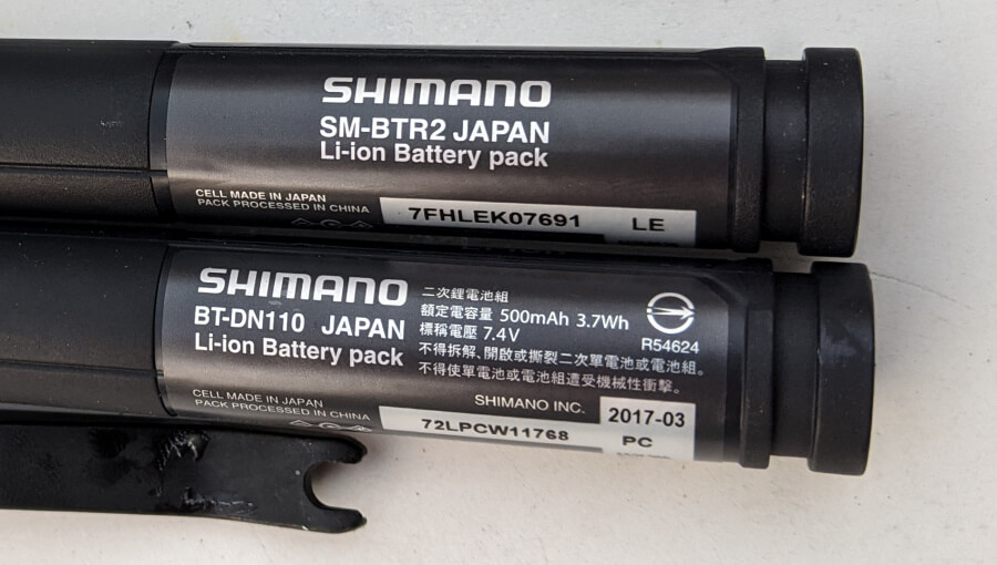 Shimano date codes