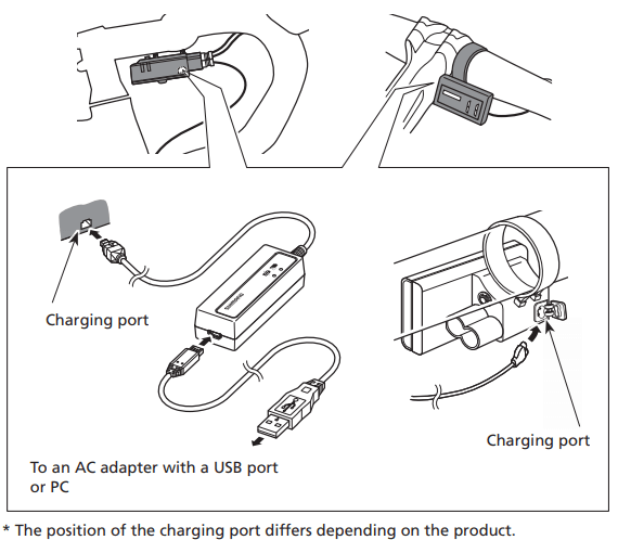 Di2 how to charge the bike