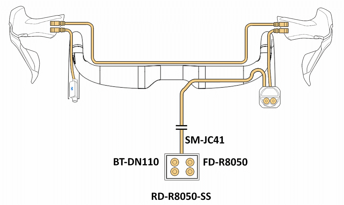 Di2 setup without JC130