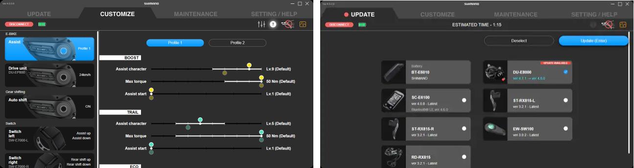 E-Tube Desktop update 4.0.0
