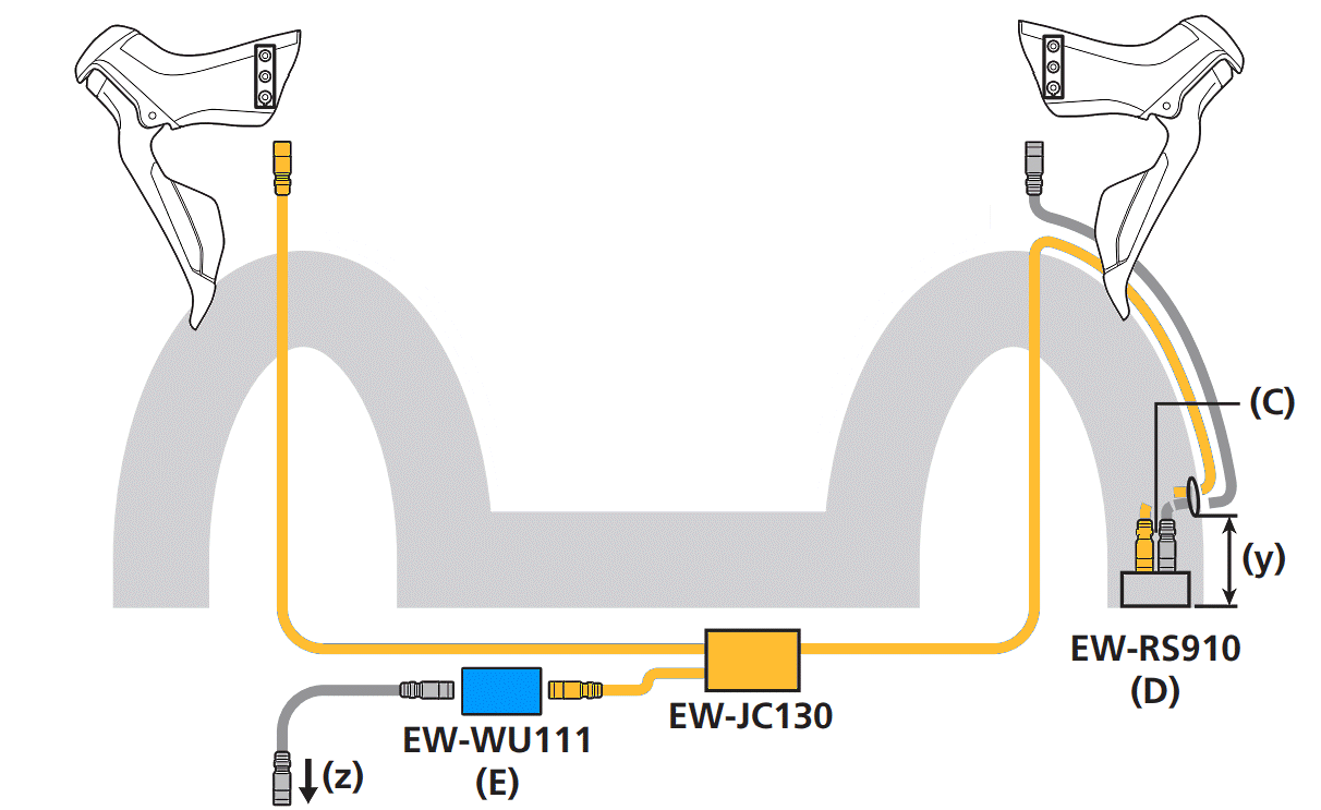 EW-RS910 wiring with EW-JC130