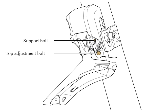 One bolt FD Adjustment and Support bolts