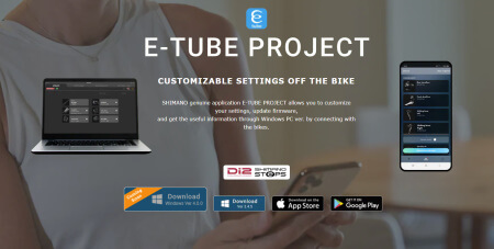 Image for Shimano update E-Tube for Windows to version 4.0.2