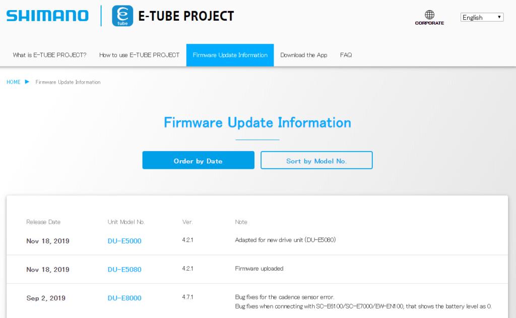 find etube updates on site